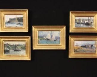 David Thigman Marine Paintings