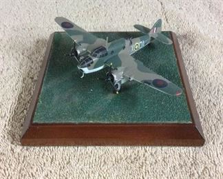 0007  Diverse Images Pewter Airplane Collection  Bristol Beaufort Bomber