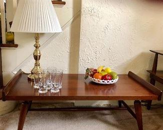 Willett MCM  cherry coffee table