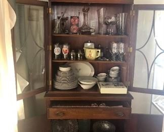 Small dining hutch
