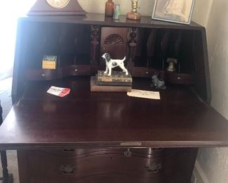 Antique drop down desk/secretary