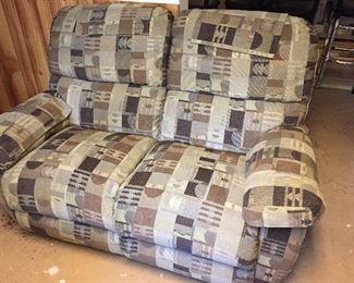 like new reclining love seat
