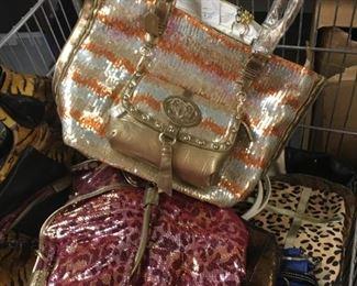 Designer and brand name, purses.