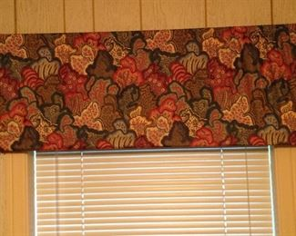 Valance, one of a pair