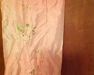 Hand painted silk scarf. This picture does not do it justice!