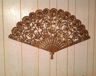 Large fan decor