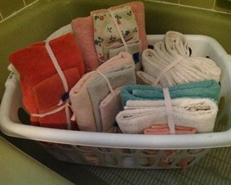 Basket of towels