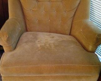 Vintage Vogue upholstered chair