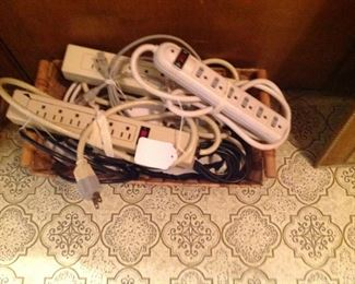 Basket full of surge protector