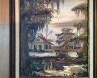 Oil on canvas by George Grunblatt