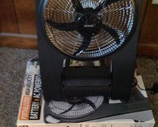 Electric or battery operated fan