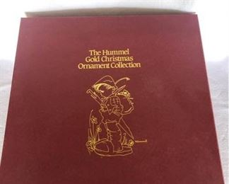 Danbury Mint Hummel Gold Christmas Ornament Set of 36 https://ctbids.com/#!/description/share/189442