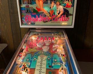 Bally Aladdin's Castle pinball machine--just restored