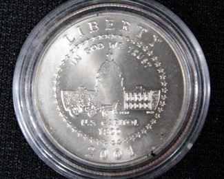 2001 U.S. Capital Visitors Center Commemorative Coin