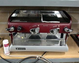 Rancilio Espresso Machine Two-Group Model Epoca E