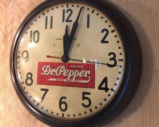Dr. Pepper Clock
