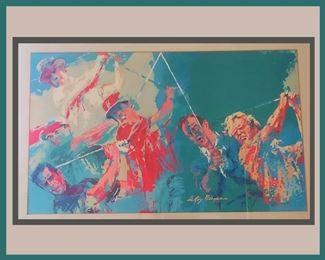 Framed Leroy Neiman Print
