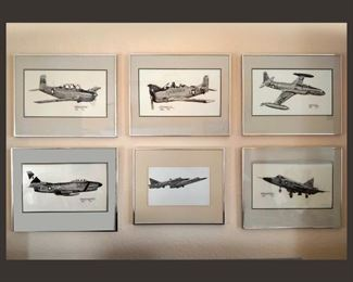 Great Collection of Airplane Prints