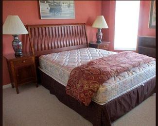Lovely Guest Bedroom with Lexington Nightstands
