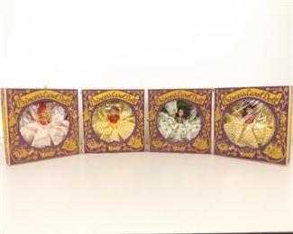 4 - 1950's Princess Carol Dolls in Original Boxes