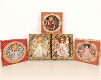 5 - 1950's The Lovely Mary Jean etc. Dolls in Original Boxes