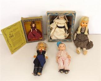 Lot of Misc Vintage Dolls