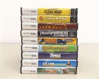 Lot of 9 MINT Nintendo DS Games