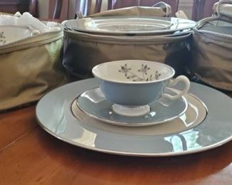 201: Kingsley By Lenox X-445 Set for 12 Kingsley By Lenox X-445 Set for 12