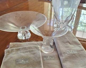 203: Steuben Glass Pieces Steuben Glass Pieces