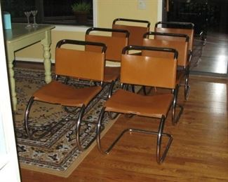 A set of six Knoll MR Chairs