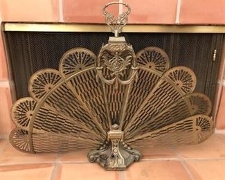 1920s Fireplace Screen
