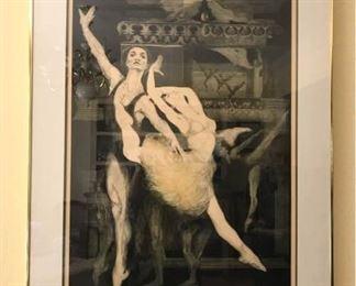 GH Roth Lithograph Print