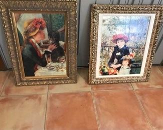 Rembrandt Inspired Reproduction Paintings