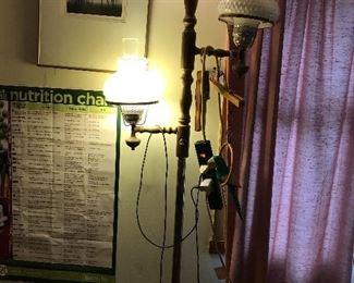 vintage floor lamp 50% off Friday!