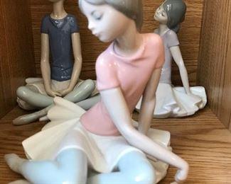 Lladro ballerinas