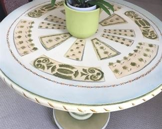 Painted center table