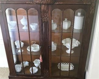 Not everything in the cabinet for sale