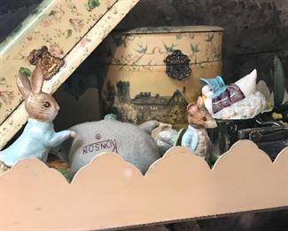 Bureau boxes and Beatrix Potter