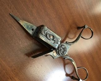 Vintage cigar scissors