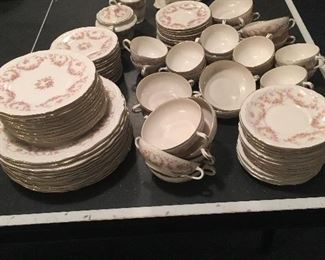 Tons of pretty china