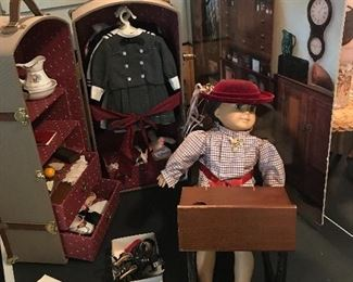 American girl doll Samantha with clothes and accessories