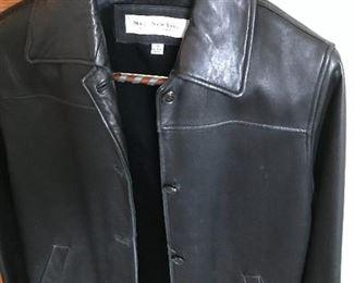 Nifty leather jacket