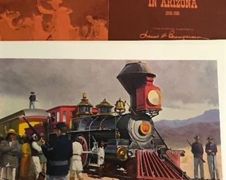 Indian Wars in Arizona art folio