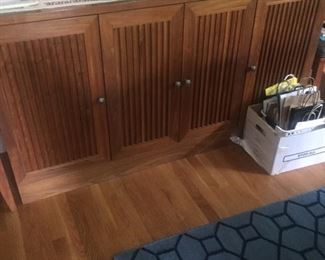 Sideboard with lots of room-better pictures coming--made by high end Amish design Borkholder furniture in Indiana-Lifetime guarantee!