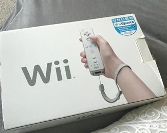 Wii Sports gaming console
