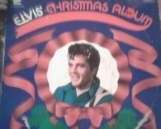 Rare Elvis First Christmas album. Over 200 other vintage 50 s 60 albums