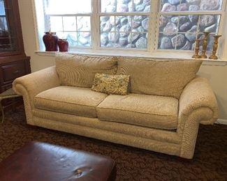 2 cushioned Sofa
