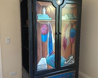Very cool armoire/cabinet