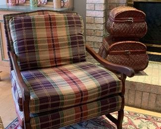 1 of 2 matching side chairs