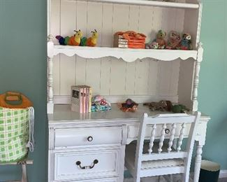Matching Bookcase/Desk and chair